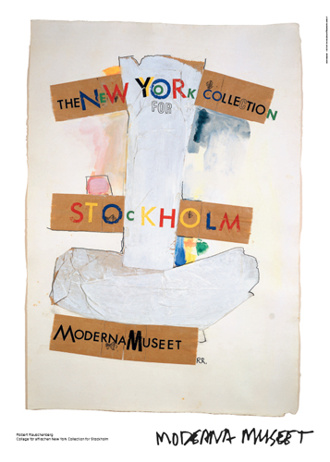 Robert Rauschenberg - New York Collection for Stockholm