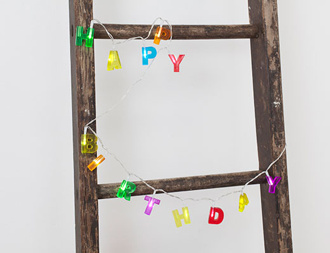 Ljusslinga - Happy Birthday