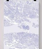 Stockholm Färgläggningsaffisch